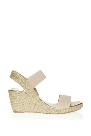 Lipsy Nude Low Espadrille Wedges