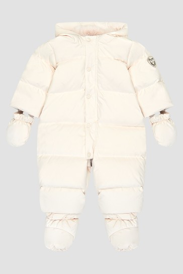 Baby Off white Snow Suit