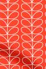 Linear Stem Tomato Red Made To Measure Roman Blind by Orla Kiely