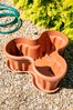 Set of 3 Vista Large Tray And Tri Garden Planters by Wham