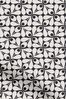 Woven Acorn Cup Charcoal Black Made To Measure Curtains by Orla Kiely