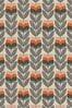 Rosebud Orange Made To Measure Roller Blind by Orla Kiely