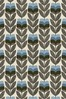 Rosebud Powder Blue Made To Measure Roller Blind by Orla Kiely