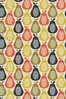 Scribble Pears Multi Cream Made To Measure Roller Blind by Orla Kiely