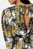 Topshop Fresh Floral Print Midi Dress