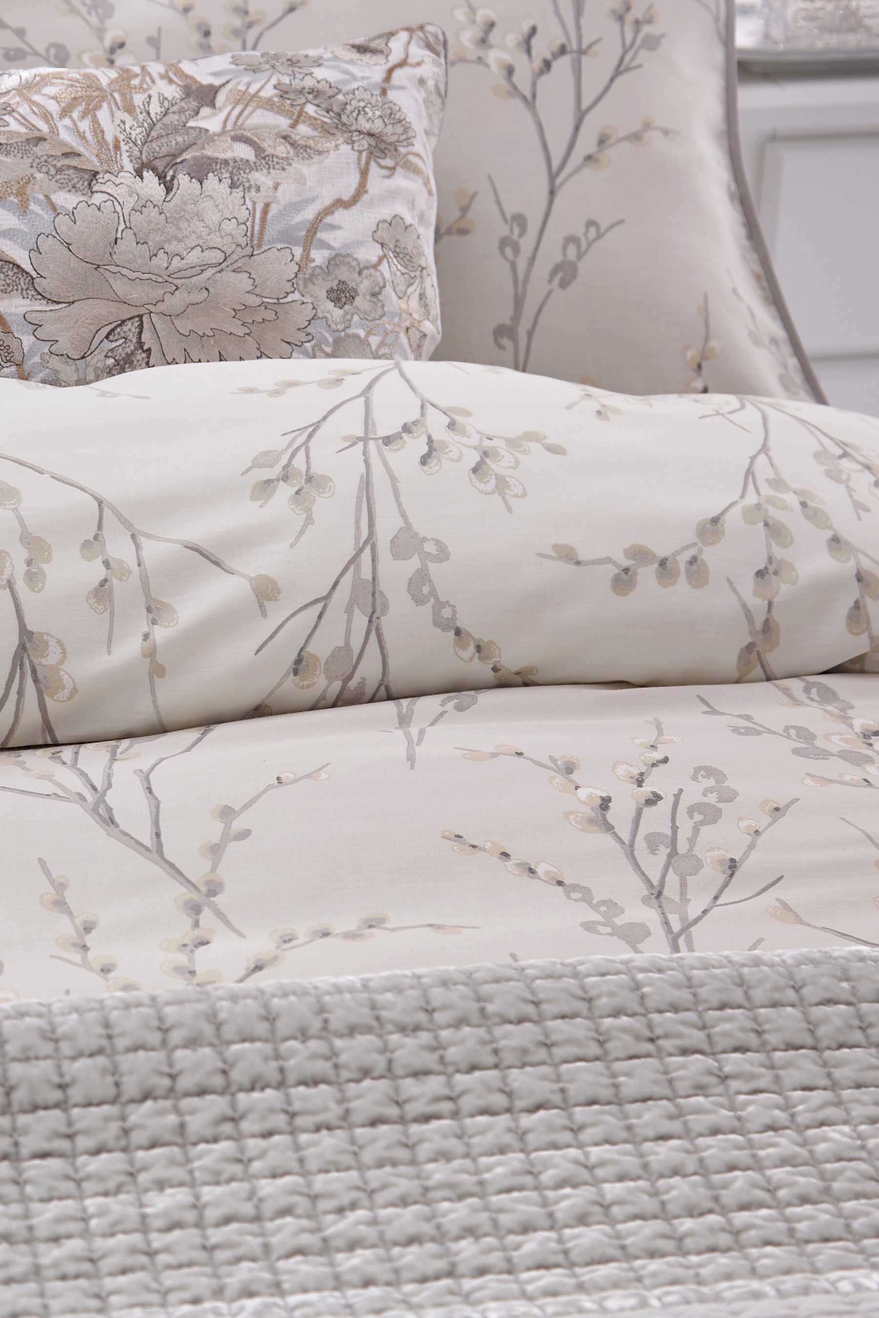 Buy Laura Ashley Pussy Willow Duvet Cover and Pillowcase