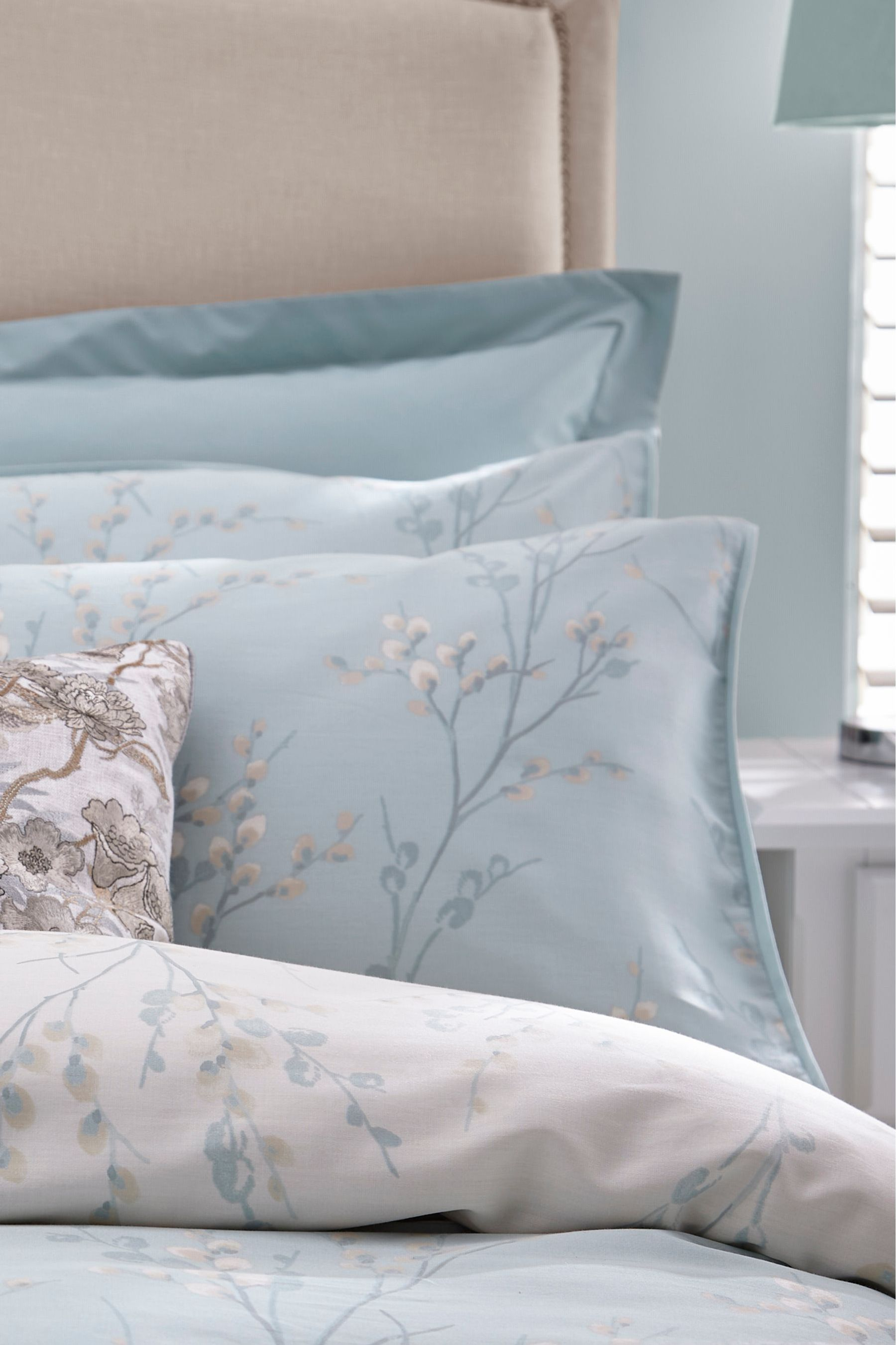 Buy Set of 2 Laura Ashley Pussy Willow Pillowcases from