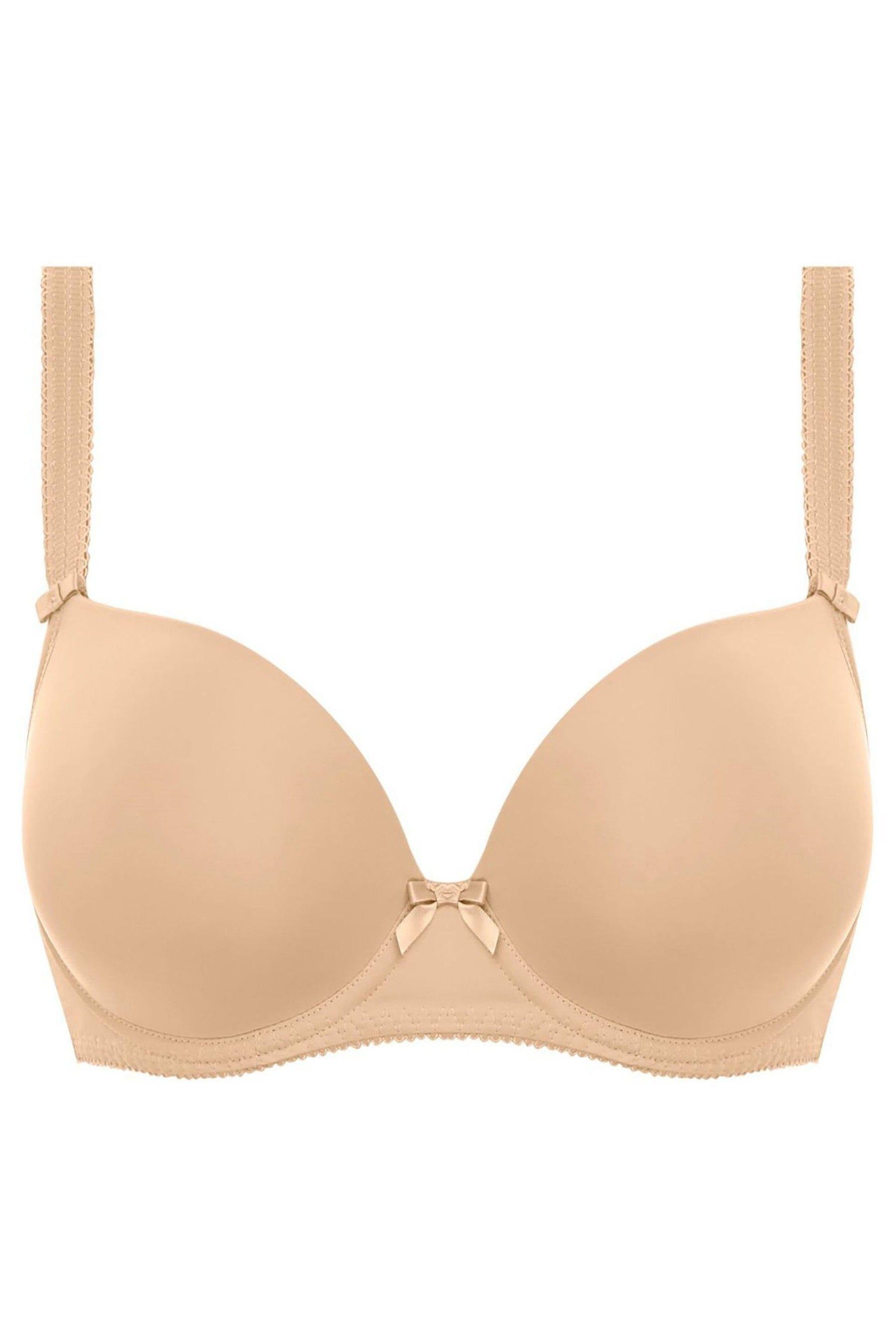 Freya Womens Deco UW Moulded Strapless Bra, Nude, 36C