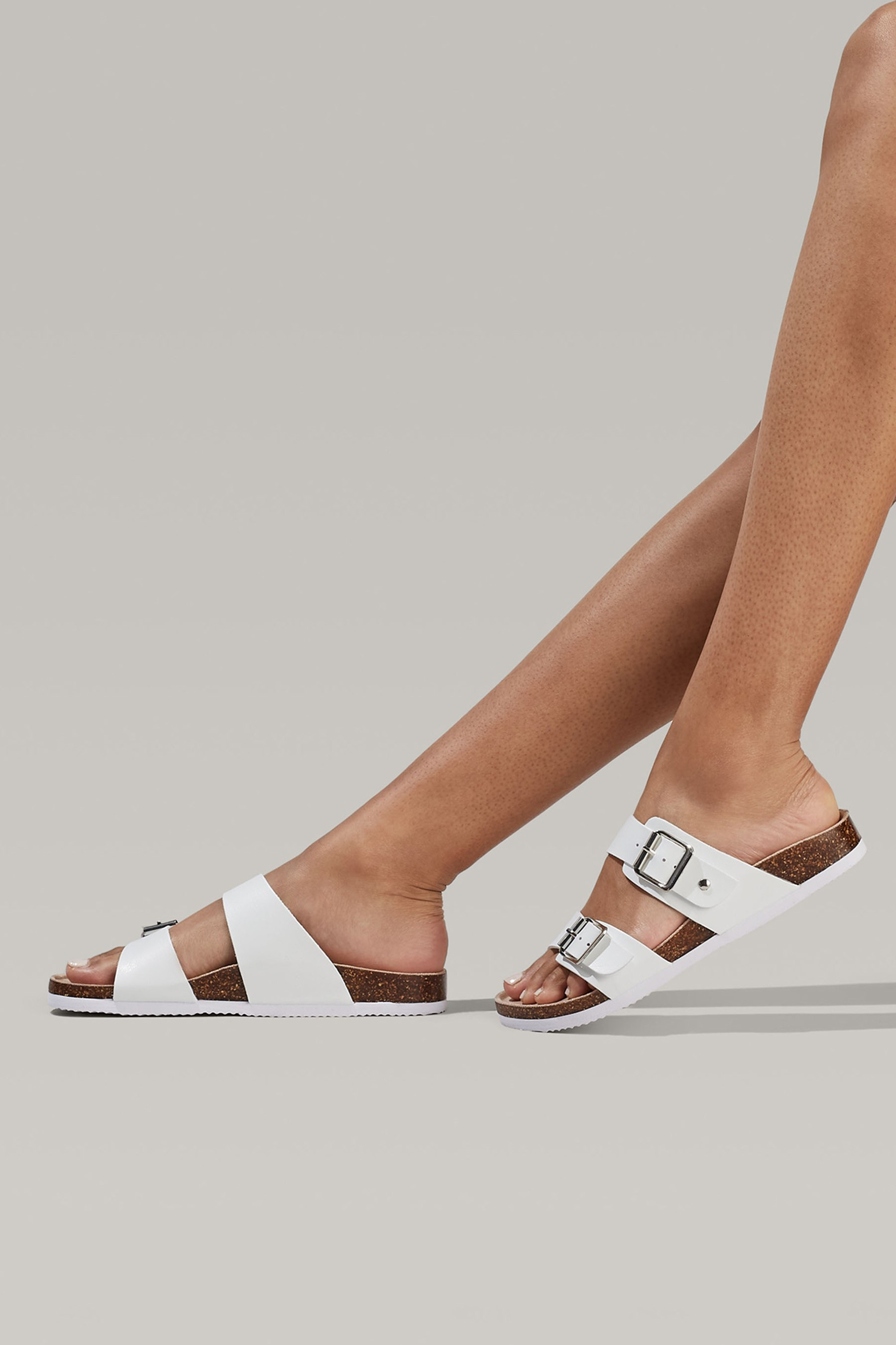 Miss kg Sian Strappy Block Heeled Sandals in Multicolor