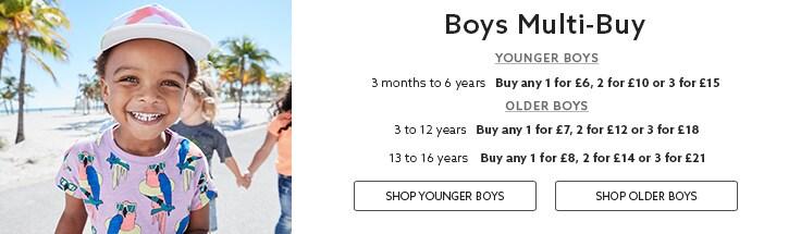 Boys Multibuy
