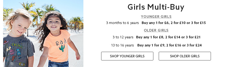 Girls Multibuy