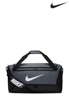 Nike Grey Adult Medium Duffel Bag