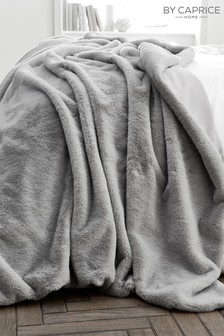Caprice Ava Luxury Faux Fur Throw