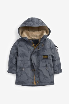 Grey Utility Parka (3mths-7yrs)