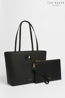 Ted Baker Black Aveeda Bow Shopper