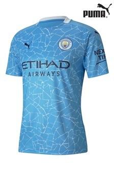 Puma Manchester City Home Short Sleeve Jersey