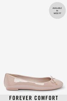 Nude Regular/Wide Fit Forever Comfort™ Ballerina Shoes
