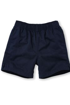 Navy Rugby Shorts (3-16yrs)