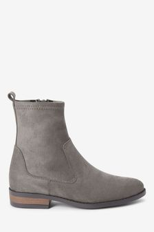 Grey Forever Comfort® Flat Sock Boots