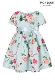 Monsoon Baby Floral Scuba Dress