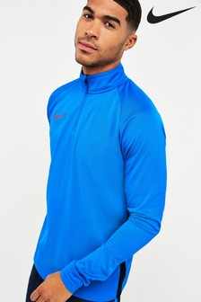 Nike Blue Academy Drill Top