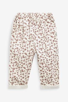 Neutral Animal Jersey Wide Leg Trousers (3mths-7yrs)