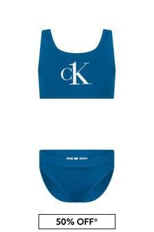 Calvin Klein Underwear Blue Bikini