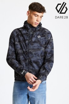 Dare 2B Black Highlite Lightweight Reflective Jacket