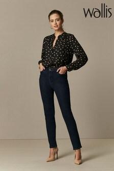 Wallis Petite Indigo Ellie Skinny Jeans