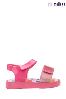 Mini Melissa Pink Sunny Sandals
