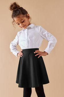 Black Skater Skirt (3-16yrs)