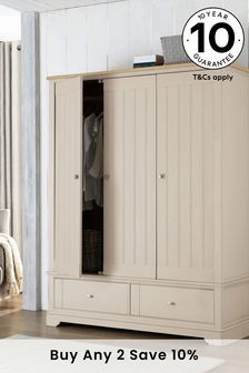 Stone Hampton Triple Wardrobe
