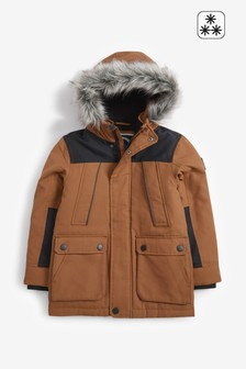 Tan Parka (3-16yrs)