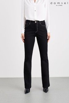 Damsel In A Dress Black Mea High Waisted Jeans