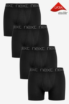 Black A-Fronts Four Pack