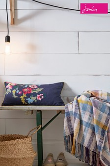 Joules Cambridge Garden Floral Cushion