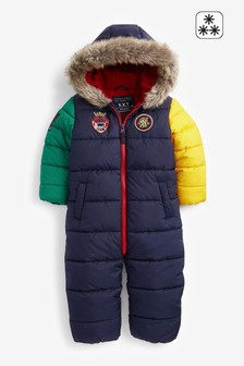 Multi Padded Snowsuit (3mths-7yrs)