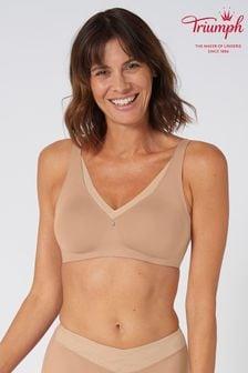 Triumph Nude True Shape Sensation Non Wired Minimiser Bra