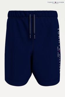 Tommy Hilfiger Blue Established Drawstring Swim Shorts