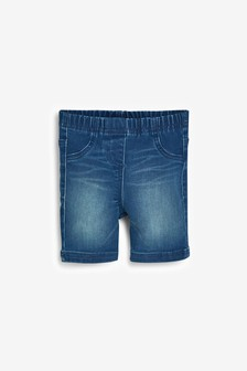 Denim Cycling Shorts (3mths-7yrs)