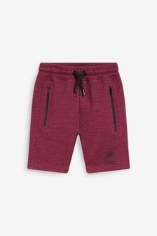 Plum Sporty Shorts (3-16yrs)