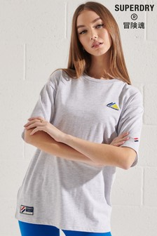 Superdry Mountain Sport Embroidered T-Shirt