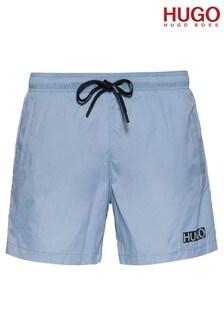 HUGO Blue Haiti Swim Shorts