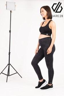 Dare 2B Black Maternity Influential Active Leggings