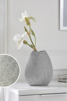 Diamanté Effect Ceramic Vase
