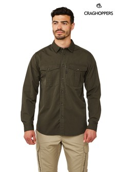 Craghoppers Green Kiwi Ripstop Shirt