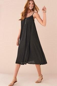 Black Embellished Sparkle Dress