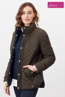 Joules Green Highgrove Reversible Quilted Jacket