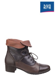 Riva Brown Lillie Ankle Boots