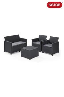 Emma Lounge Set with Storage Table